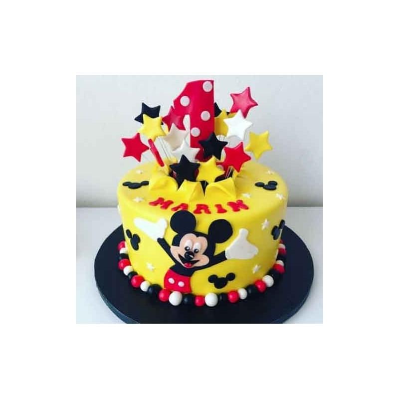 White rose 3 Tier cake 5kg