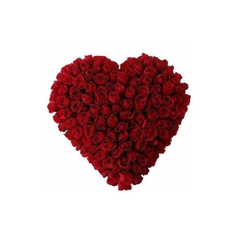 Romantic mix roses