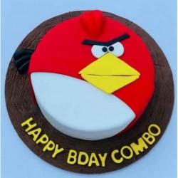 Heart Shape Vanilla Cake 1kg