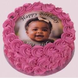 Heartshape Strawberry Cake 1kg