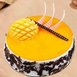 Cake Teddy with Gerbera Bouquet