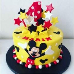 Cricket Theme cake 2kg