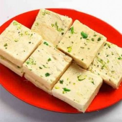 Blue with Gold Necklace