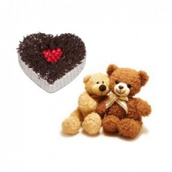 24 mix roses in a bunch