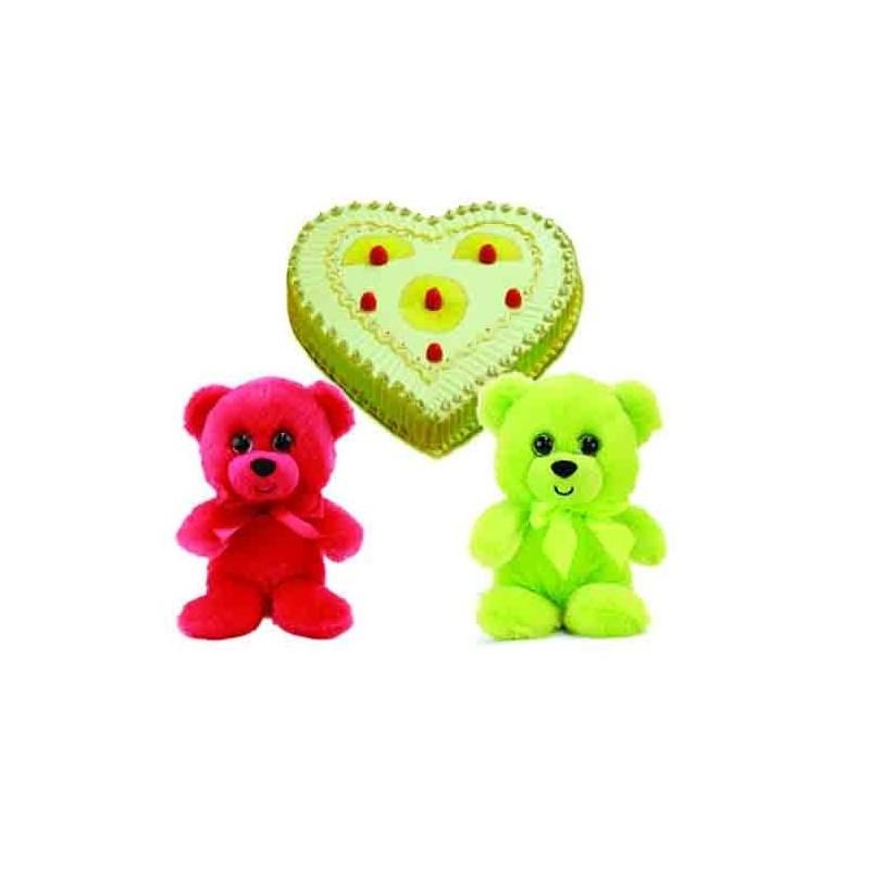 Diwali Earthen Diya with Beautiful Flowers Basket