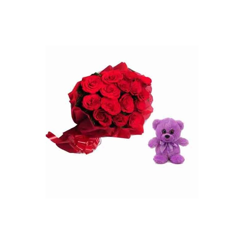 I Love You Balloon Heart Teddy, Pink
