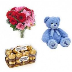 Cute Beige Pug Dog Stuffed Soft Plush Toy 32 cm