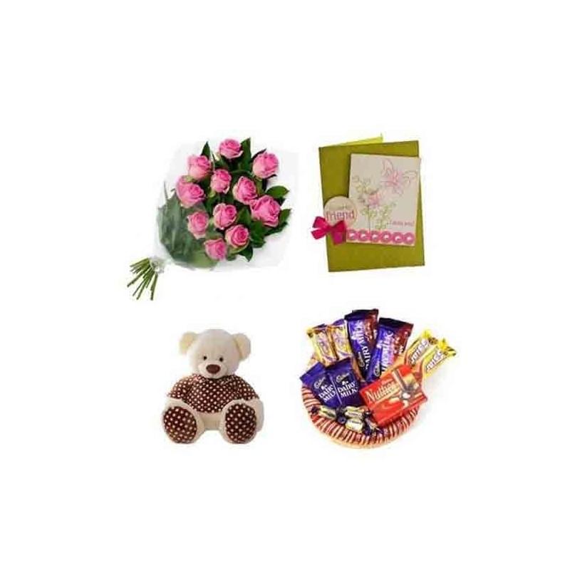 Valentine Gifts for Girls/BoysTeddy Couple Monkey